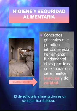 CURSO DE CAPACITACION EN HIGIENE Y SEGURIDAD …