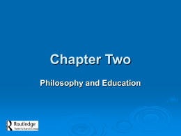 Chapter Two - Homepage