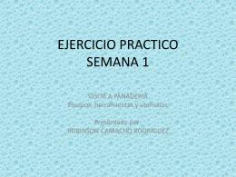 EJERCICIO PRACTICO SEMANA 1