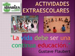 Semana Cultural - Colegio Albariza