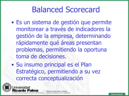 Balanced Scorecard - Blog de Gino Bibolotti | Just another