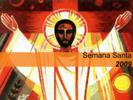 Semana Santa - A Milagrosa