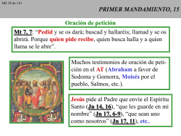 PRIMER MANDAMIENTO, 15