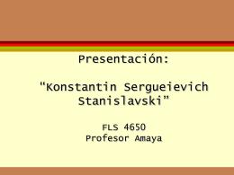 Konstantin Sergueievich Stanislavski
