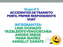 EL SOAT - Salud Ocupacional SENA 2013