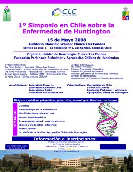 Primer Simposio en Chile sobre la Enfermedad de …