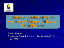 Desarrollo del Nodo Chile dentro del Campus Virtual en
