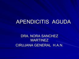 APENDICITIS AGUDA - clasesmedicina | Just another