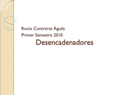 Desencadenadores - Apuntes DUOC / FrontPage