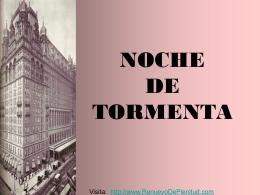 NOCHE DE TORMENTA - Renuevo De Plenitud