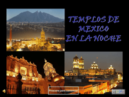IGLESIAS DE NOCHE EN MEXICO