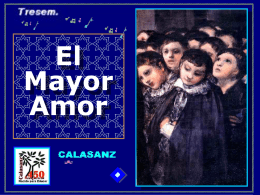 Calasanz.Mayor Amor