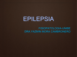Epilepsia en el Adulto Mayor
