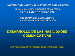 UNIVERSIDAD NACIONAL MAYOR DE SAN MARCOS …