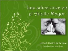 Las adicciones en el Adulto Mayor