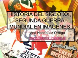 HISTORIA DEL SIGLO XX, SEGUNDA GUERRA MUNDIAL …