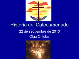 Historia del Catecumenado