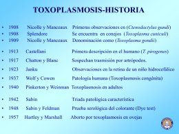 TOXOPLASMOSIS-HISTORIA - Blog 5 Semestre UCIMED I …