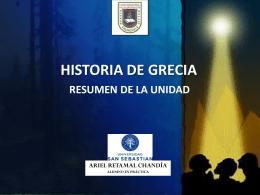 HISTORIA DE GRECIA - arielretamalchandia