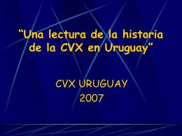 Historia de la CVX Una lectura de las gracias recibidas