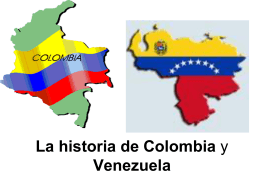 La historia de Colombia - Hempfield Area School District