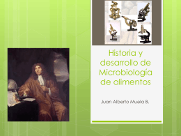 Historia y desarrollo de alimentos
