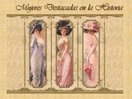 Mujeres Destacadas en la Historia