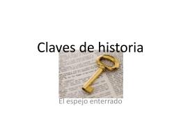 Claves de historia - incomplete url page