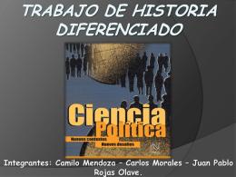 Trabajo de Historia diferenciado