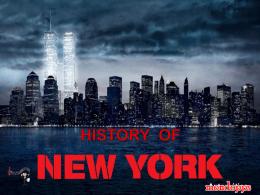 NEW YORK Y SU HISTORIA - PPS: le migliori presentazioni