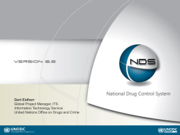 National Drug Control System - United Nations Office on