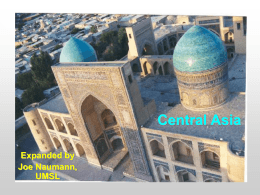 Chapter 10 - Central Asia - University of Missouri