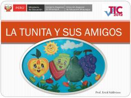 LA TUNITA - Actiludis - Material educativo accesible y