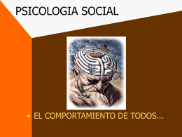 PSICOLOGIA SOCIAL - Future Website of filosofiaiquique