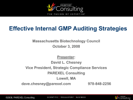 Effective Auditing Strategies