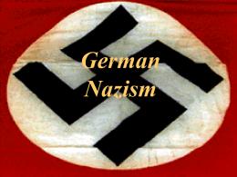 Nazism - Tripod.com