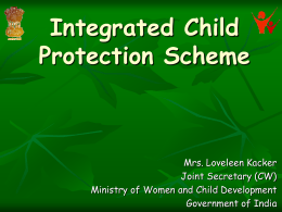 Child Protection in India