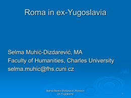 Roma in ex-Yugoslavia