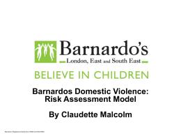 BARNARDOS DOMESTIC VIOLENCE