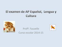 El nuevo examen de AP - Appoquinimink High School