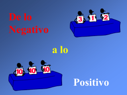 Positivo o Negativo