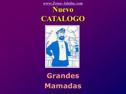 Catalogo de mamadas.