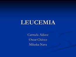 LEUCEMIA - .:: Universidad Privada Norbert Wiener