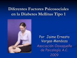 Factores psicosociales en la diabetes mellitus