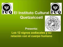 El Zodiaco Humano - Gnosis. Instituto Cultural