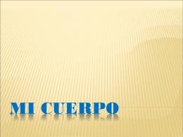 MI CUERPO - capacitacionTIC-2011