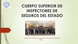 CUERPO SUPERIOR DE INSPECTORES DE SEGUROS DEL …