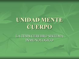 UNIDAD MENTE CUERPO - .:: Universidad Privada Norbert