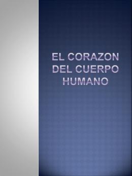 El Corazon Del El Cuerpo Humano