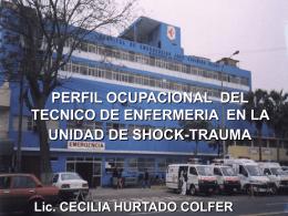 Perfil Ocupacional del Tec. Enfermeria